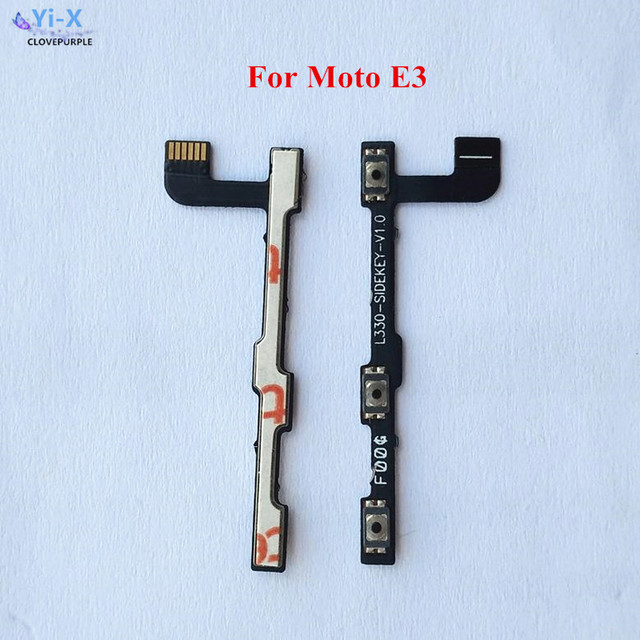 2pcs Power Volume Side Button Flex Cable Power On And Off Switch
