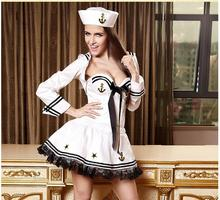 2013 Free shipping Blue White Sailor Moon Suit Cosplay Costume Dress for Adult women Sexy Sailor cosplay Party Club dress