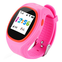 Colorful Display Smart Watch for Kids with GPS Tracking Electronical Fence Wristwatch for Children SOS Emergency Call Waterproof