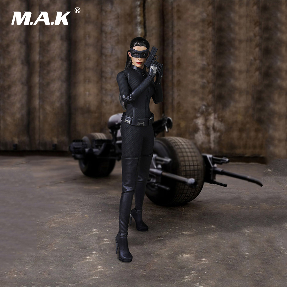 1/6 Batman Catwomen Anne Hathaway Female Action Figurea Clothes Running Sport Suit & Shoes for 12 inches Figure Accessories 1 6 scale figure doll clothes male batman joker suit for 12 action figure doll accessories not include doll and other 1584