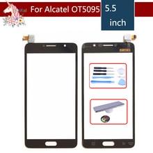10pcs/lot 5.5 For Alcatel Pop 4S OT5095 5095 5095Y Touch Screen Digitizer Sensor Outer Glass Lens Panel Replacement цена