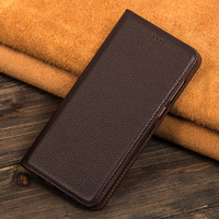 Cowhide Cover For Xiaomi Redmi 4A 4 Pro Flip Stand High Quality Magnetic Genuine Leather Phone