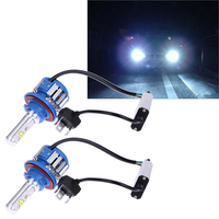 6000k Super Bright Car Headlights H7 LED H8 H11 HB3 9005 HB4 9006 H1 70W 7000lm