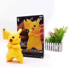 цены Anime Cute Angry Pikachu PVC figurine PVC Action Figure Collection Model Christmas Gift Toy 18 cm