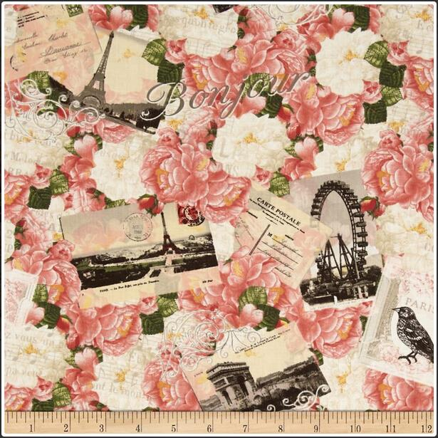 Popular Vintage Roses Fabric-Buy Cheap Vintage Roses Fabric lots ...