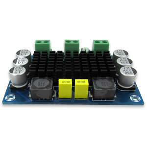 Image 4 - AIYIMA TPA3116D2 モノラルデジタルオーディオアンプボードクラス D 100 3w のアンプ DC12 26V DIY XH M542 ハイファイアンプモジュール