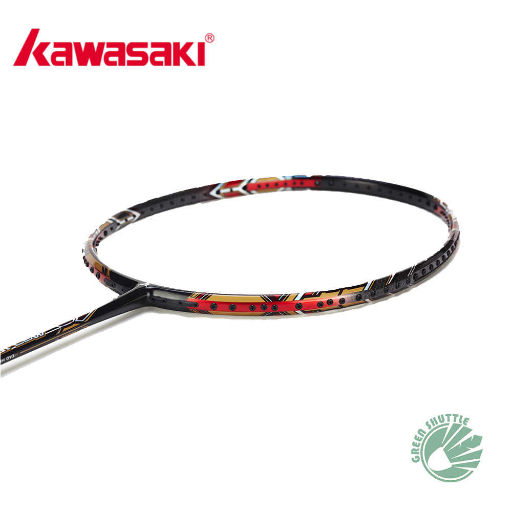 100% Genuine Six Star Kawasaki Nezer 19 Mao 18 11 II Badminton Racket Professional Offensive Powerful Racquet