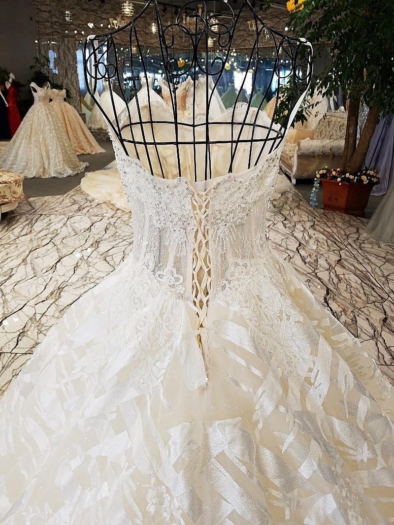 LS74521 rochii de mireasa de lux rochie de mireasa fara buzunar - Rochii de mireasa - Fotografie 5