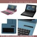 Универсальный Съемный Bluetooth Клавиатура PU Case Обложка Для huawei MediaPad 10 FHD ссылка lenovo S6000 Для Sony Tablet Z 10.1 case