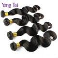Peruano onda do corpo do cabelo virgem tamanho personalizado 8-30 polegadas mista cabelo humano tece 4 pacotes por lote 100g/3.5 oz cabelo tece