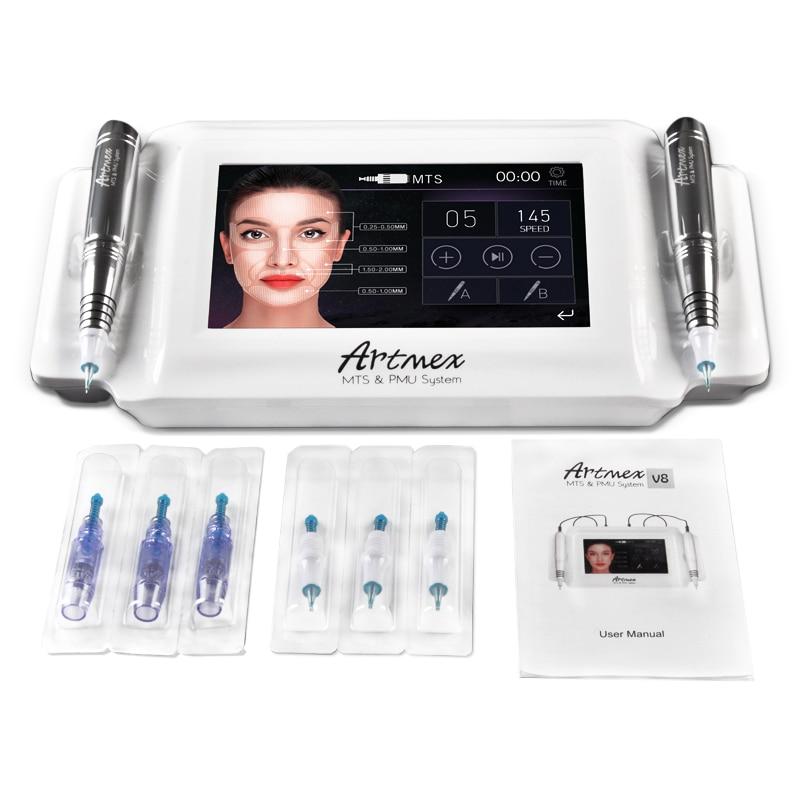 Artmex V8 per la fornitura del tatuaggio della mitragliatrice del tatuaggio labbra sopracciglia linee degli occhi eye lashes