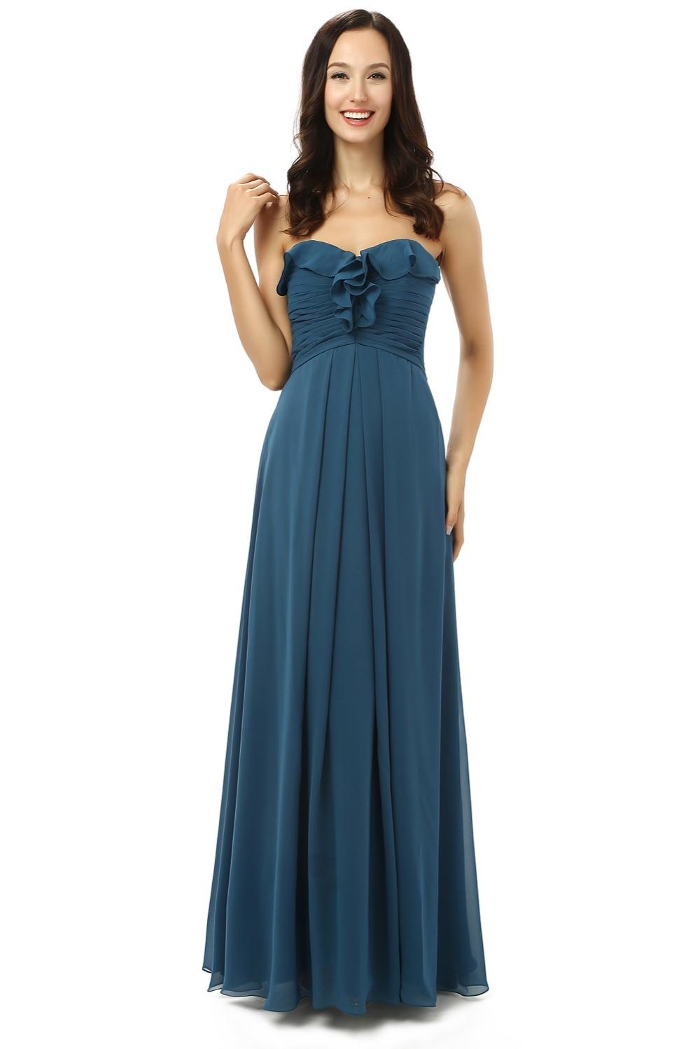 Cheap Blue Bridesmaid Dresses Under 50