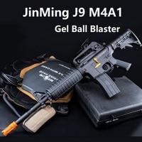 Wholesale Jinming M4A1 J9 JM J9 Gel Blaster Nylon Replica V2 Gear Box Electronic Water Gel Ball Gun WIth SEMI/Auto Function