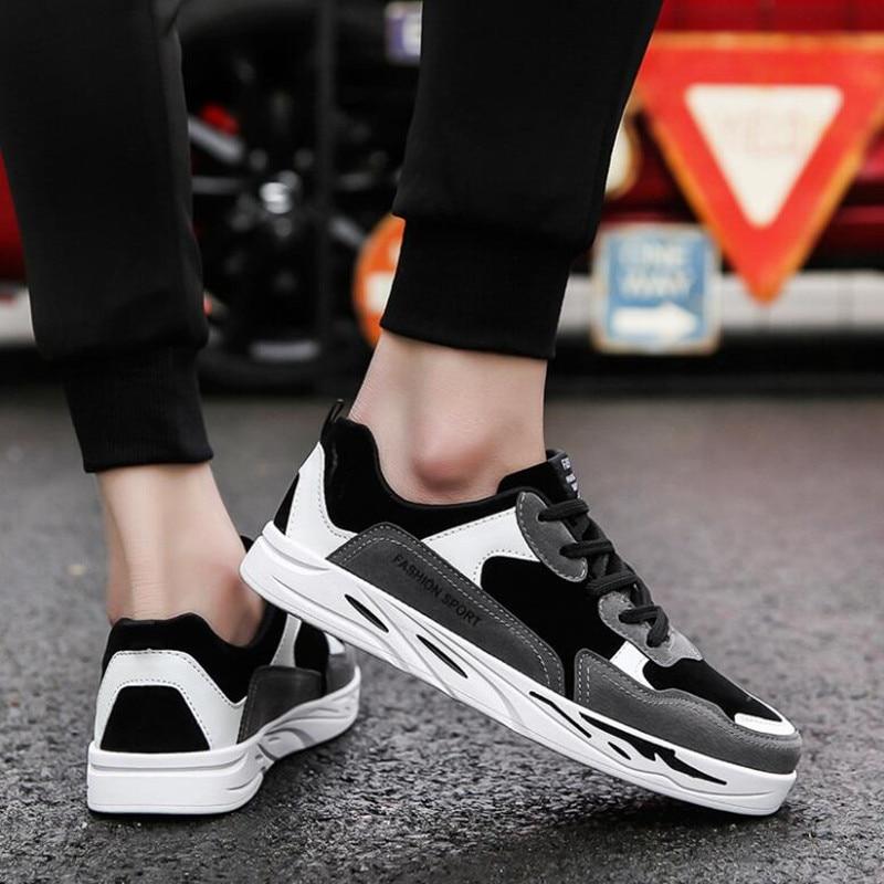 2018 스프링 보드 신발 한국어 버전 여러 가지 빛깔의 - 남성용 신발 - 사진 5