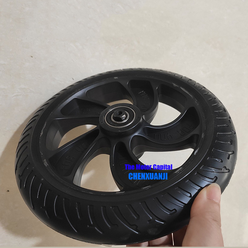 8.5 inch solid tyre wheels rear Wheel For KUGOO S1 S2 S3 Folding Electric Scooter spare part