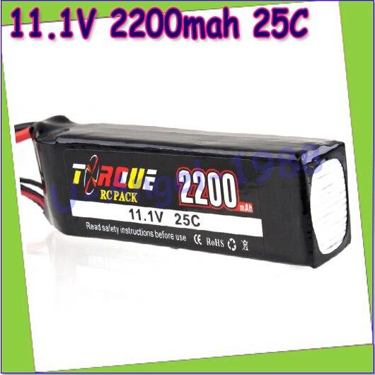 Txrdue 11.1v 2200mah 25c MAX 35C AKKU LiPo RC Battery For Rc Trex 450 Helicopter 3S  +free shipping 5pcs akku trex 450 rc helicopter tie dowen strap for 11 1 3s 2200 battery
