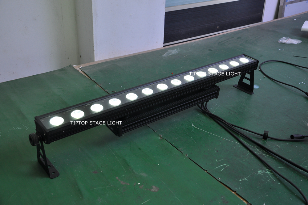 Factory Direct Sales 8PCS 14X12W Linear Stage Building Led Bar Light ...