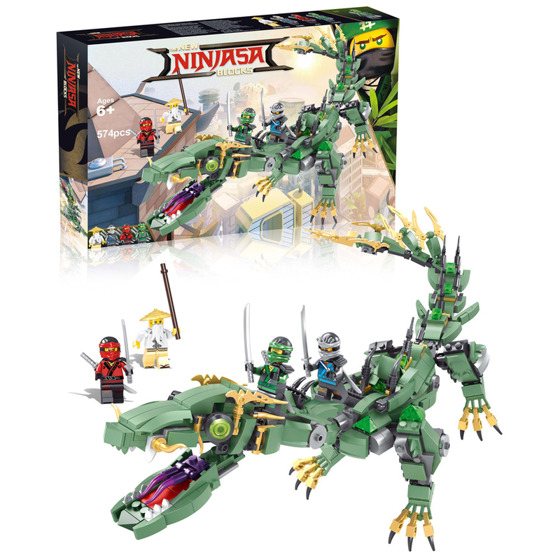 Ninjagoes Ninja Series Flying Mecha Dragon Building Blocks Bricks Baby Toys Children Gift Model Gifts Compatible with Legoe lepin 06038 compatible legoe ninjagoes minifigures ultra stealth raider 70595 building bricks ninja figure toys for children