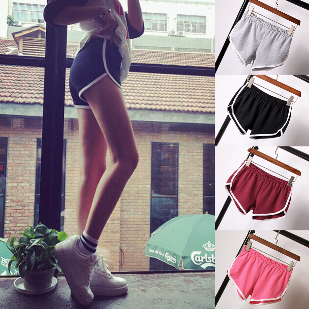 HOT New Summer Women Ladies Sexy Slim   Shorts   2017 Fashion Casual Cotton Workout   short   femme Cheap Z3
