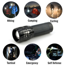 2018 NEW LED Flashlight Lanterna de led linternas Torch 2400lm Zoomable lamp mini flashlight led light lantern bike light