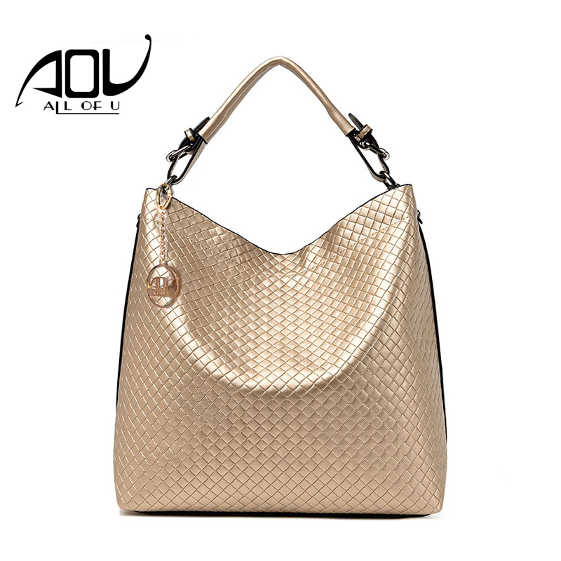 AOU New Fashion Bucket bags Luxury Handbag Women Bag Designer Brand Shoulder Bag Female Drawstring Crossbody Shoulder Bag Sac aou new women classic bag brand chains bags women s fashion shoulder bag red celebrity crossbody bag sac a main china gift