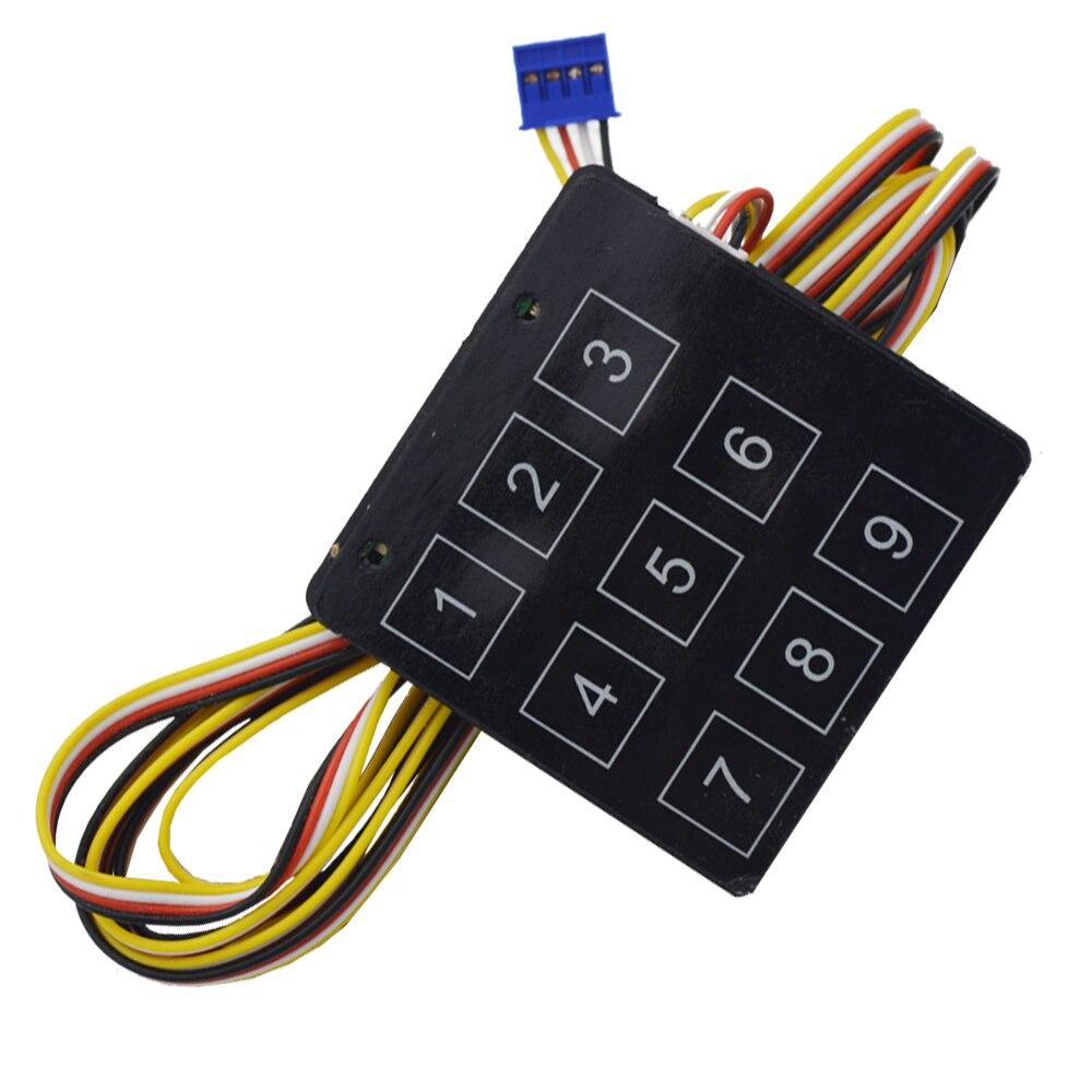 Système de suivi gps avec protection d'alarme de voiture bouton d'arrêt d'allumage du moteur sans clé - 5