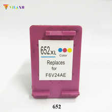 Vilaxh 652xl Compatible Ink Cartridge Replacement for HP 652 xl For Deskjet advantage 1115 1118 2135 2136 2138 3635 Printer