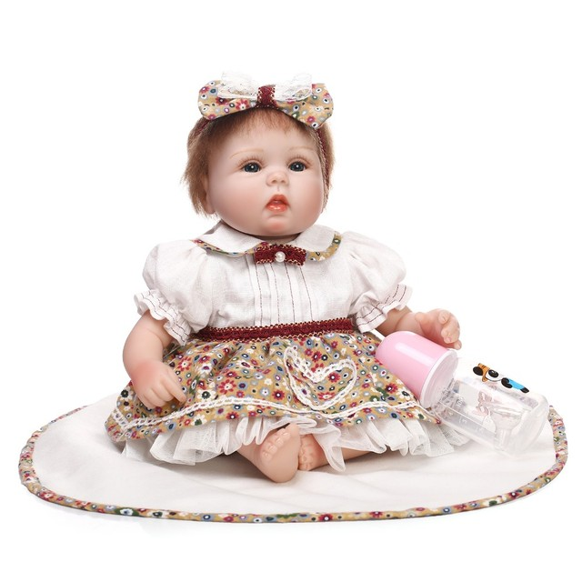baby doll toy lifelike play house bedtime toys