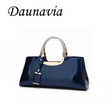 DAUNAVIA 2019 High Quality PU Leather Women Bag Female Travel Shoulder Tote Italian Leather Handbags Sac A Main Femme Bags(China)
