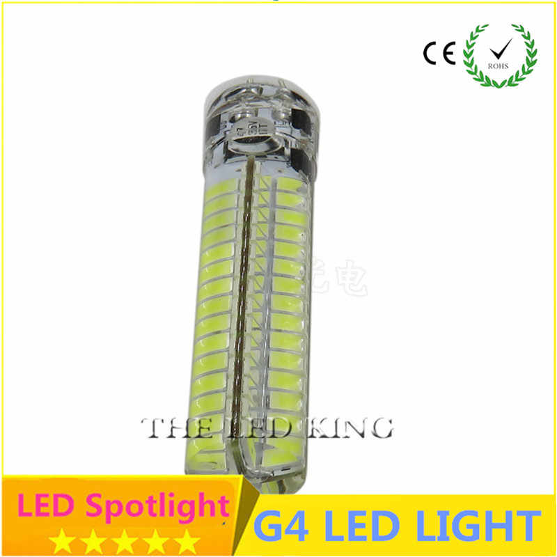 Free shipping 2019 New G4 LED 12V AC/DC Real Power 3W G4 SMD 3014 Bulb Chandelier Replace 10w-80w Halogen lamp