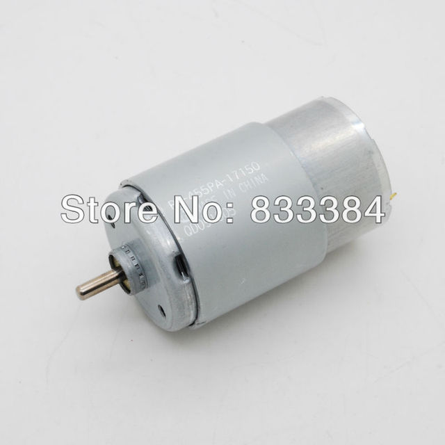 US $13 99 |2pcs MABUCHI MOTOR 455 24V DC Motor Efficient generators Driving  Motor Wind Generator 4300 RPM-in DC Motor from Home Improvement on