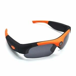 Image 4 - HD חכם 1080P 16GB/32GB מצלמה חכם משקפיים שחור/כתום מקוטב עדשת משקפי שמש מצלמה פעולה DVR ספורט וידאו מצלמה Glasse