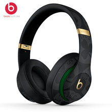 Beats Studio 3 Wireless Bluetooth Headphones Over-Ear Headset NBA Collection Pure ANC Noise Canceling Music Earphones with Mic(China)