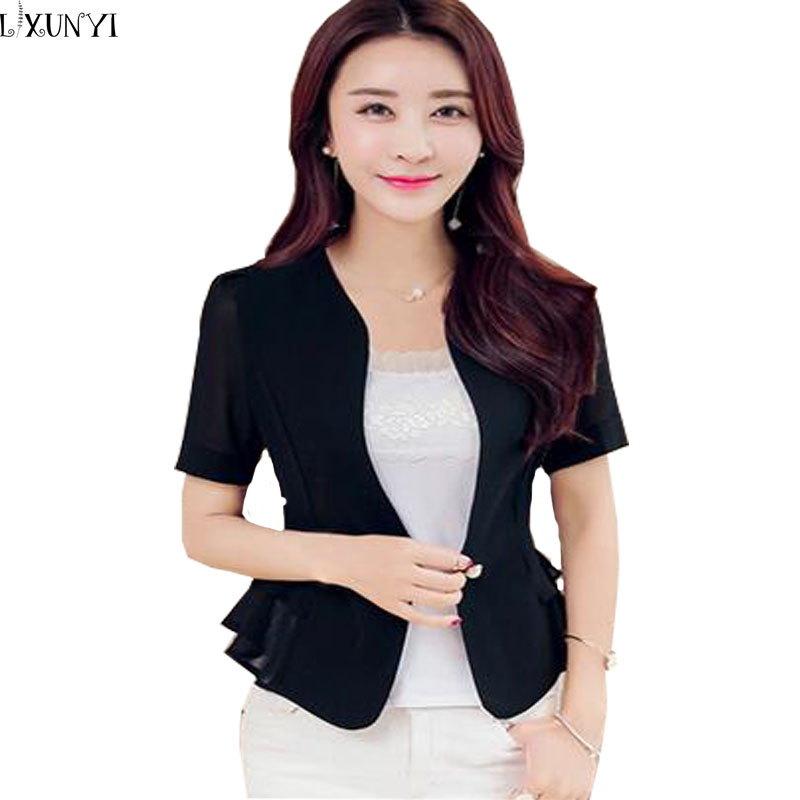 Compare Prices on Short Sleeve Women Blazer Jacket- Online ...