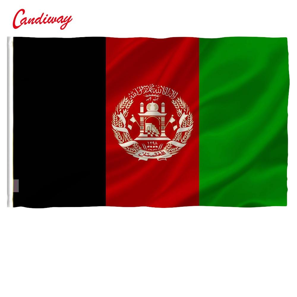 Afghanistan Flag Banner Afghan Kabul 90*150cm Banner Festival Home Decor outdoor