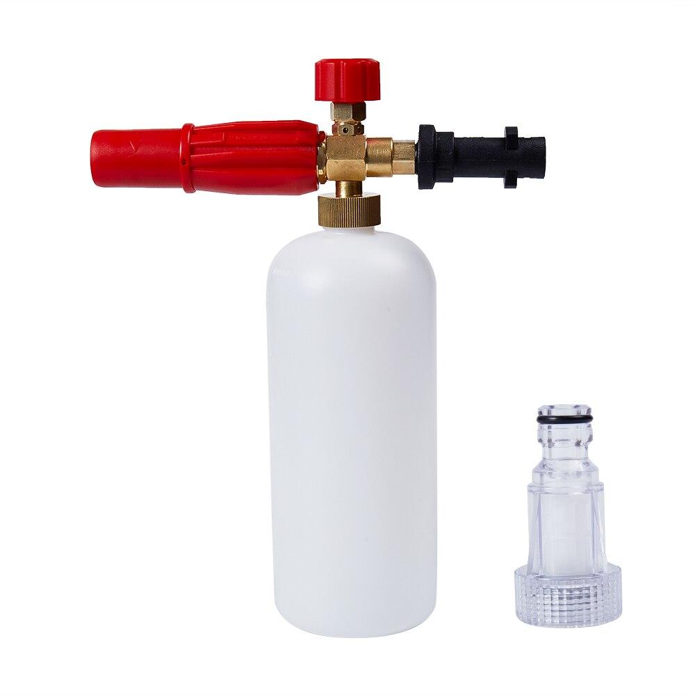 High Pressure Snow Foam Lance,For Karcher K Series,1L,Soap Foam Generator, Foam Cannon,Foam Gun,Car Washer