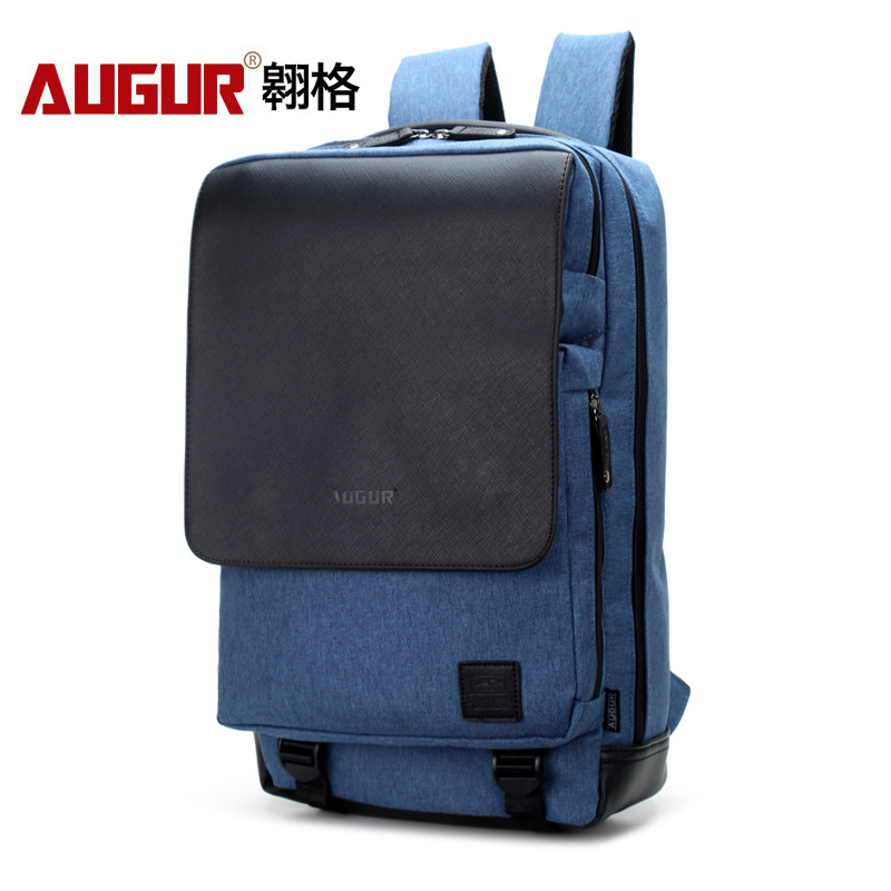 AUGUR 2018 Large Capacity 17inch Laptop Back pack Men Women Canvas Backpacks School Bags for Teenagers School Boys Girls multifunction men women backpacks usb charging male casual bags travel teenagers student back to school bags laptop back pack