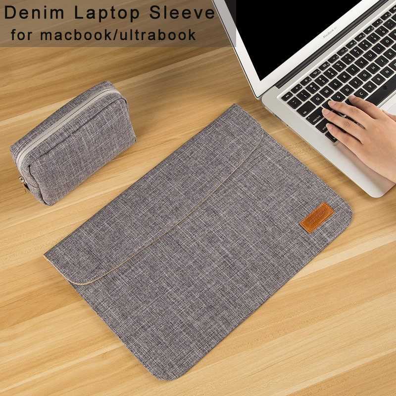 Laptop Sleeve Bag for Macbook air/pro 13 case for touchbar 13 Laptop Case Cover 14 inch for Asus/Lenovo/Dell/HP/Acer 13.3 case cover for lenovo ideapad yoga 2 pro 13 13 base bottom cover laptop replace cover am0s9000200
