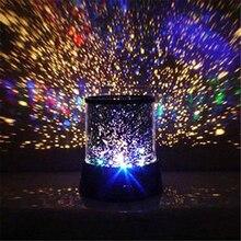 Projektor LED na noc Starry gwieździste niebo księżyc mistrz dzieci dzieci dziecko sen romantyczny kolorowe diody Led lampa projektora