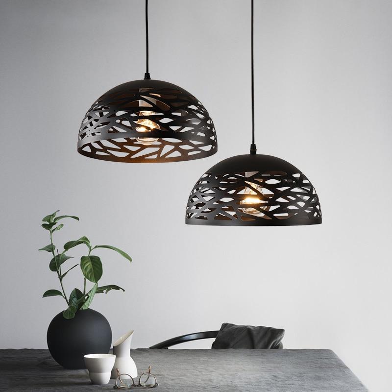 Birdcage Pendant Light LED Pendant Lamp For Dinning Room Resterant Bar Modern Pendant Lighting lampade a sospensione moderno