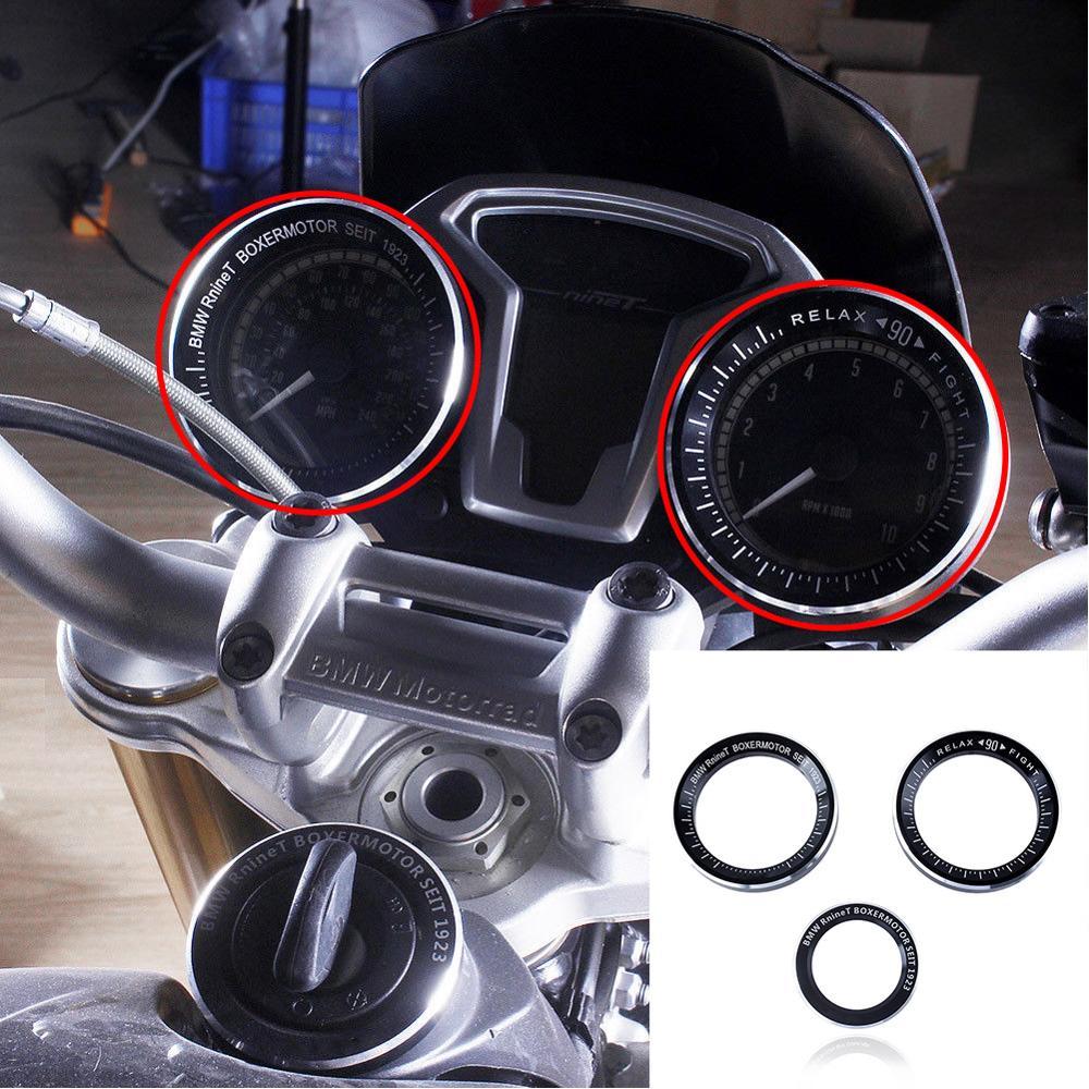 Techometer Speedometer Speedo Techo Key Ring Cover for For BMW R NINE T R1200R 2014 2015