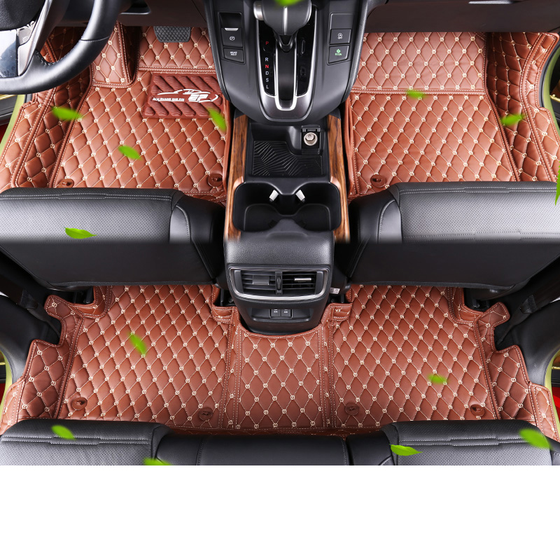 car styling car interior floor mat for honda crv 2017 2018 trunk mat for honda crv 2017 2018 car styling mat interior accessories case for mitsubishi car styling anti slip mat
