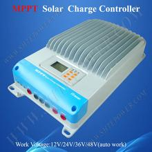 EPEVER IT6415ND 60A 45A со слежением за максимальной точкой мощности, Солнечный Контроллер заряда 12v 24v 36v 48v автоматическая работа 60a 45a pv регулятор 150v IT4415ND