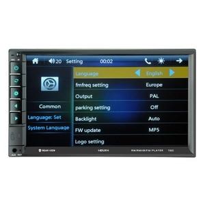 Image 3 - 7902 7 дюймовый сенсорный экран многофункциональный плеер автомобиля mp5 плееры, BT hands free, FM радио MP3/MP4 плееры USB/AUX
