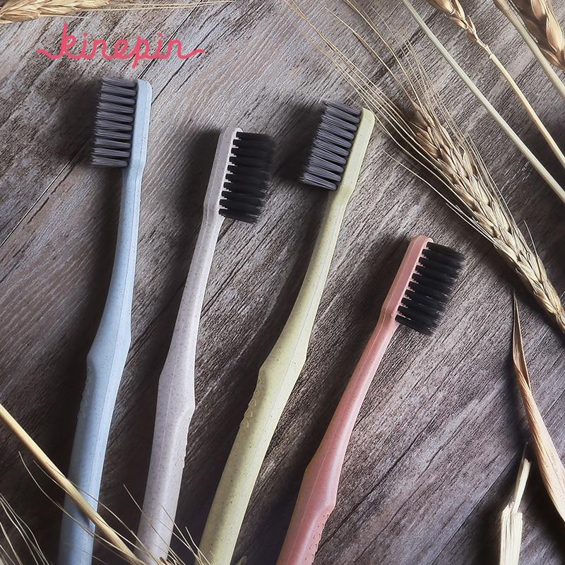 KINEPIN 1pc Yaradıcılıq Sağlamlığı Diş Fırçası Portativ - Ağız gigiyenası - Fotoqrafiya 4