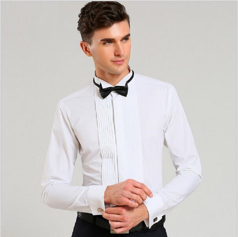 Online buy wholesale tuxedo dress shirt from china tuxedo for Best mens dress shirts 2016