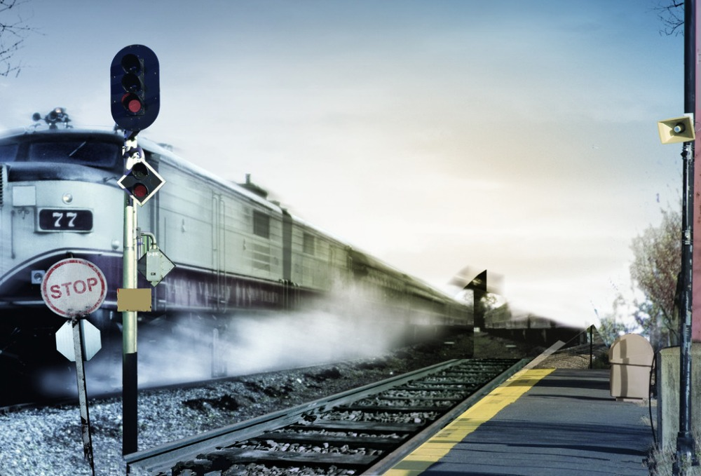 7x5ft Vinyl Custom Railway Theme Photography Backdrops Prop Photo Studio Background NTG-202