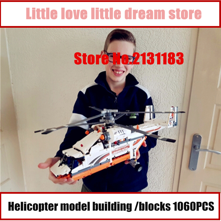 Lepin 20002 technic series plane helicopter model building blocks Compatible With lego kid gift set Boy gift assemble DIY toys lepin 02012 city deepwater exploration vessel 60095 building blocks policeman toys children compatible with lego gift kid sets