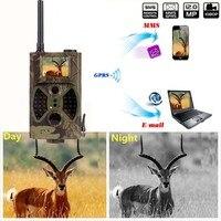 Caccia ir fotocamera 12mp 1080 p caccia infrarossi motion fotocamera gprs mms 2G gioco di caccia fotocamera trail hc300m