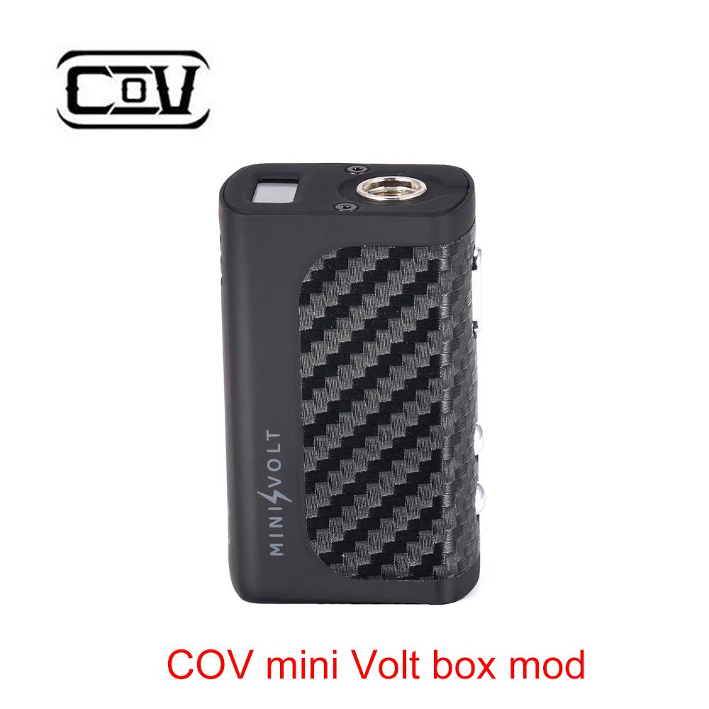 Abstand!!! Original COV Mini Volt box mod 40 W mod mit 1200 mah eingebaute batterie Auto Power off vape mod